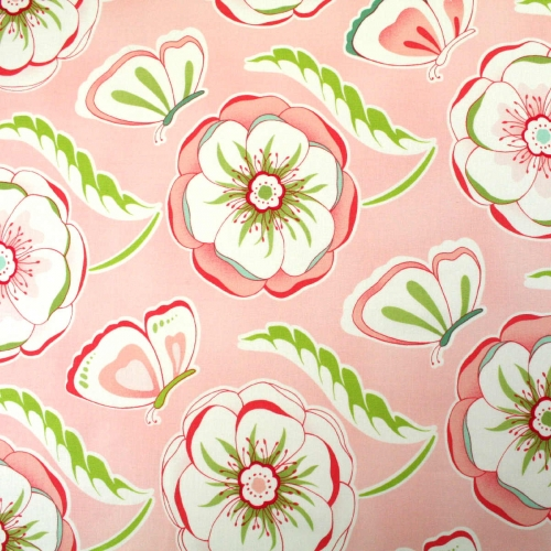 Bella Butterfly By Michael Miller Cotton Dress Craft Quilting Backing Fabric