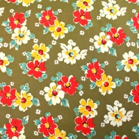Floral Patchwork Clothing Backing Quilting Craft 100% Cotton Fabricn Fabric