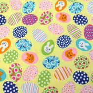 Easter eggs & Bunny Patchwork Clothing Craft Bunting Backing Cotton Fabric