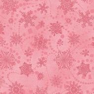 Benartex Catitude Christmas Snowflake Spree Rose Cotton Quilting Craft Fabric