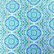 Benartex Contempo's Dreamy Blue 100% Cotton Craft Quilting Fabric