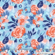Moda Fabrics - Voyage - Designer Cotton Quilting Craft Fabric
