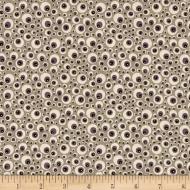 Moda Hocus Pocus Eyeballs Ashes Designer Cotton Quilting Craft Fabric