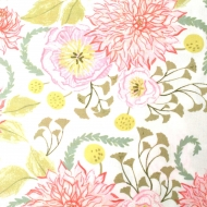 Dear Stella Design Floral 100% Cotton Clothing Craft Quilting Fabric  FQ, meter or half-meter