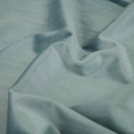 "Premium Plush Velvet Smooth Soft Cushion Dress-making Curtain Craft Fabric 61"" Width - Duck Egg Blue"