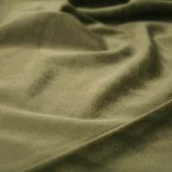 "Premium Plush Velvet Smooth Soft Cushion Dress-making Curtain Craft Fabric 61"" Width - Mocha"