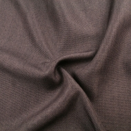 Upholstery Fabric Plain Linen Look Designer Curtain Sofa Cushion Material - Brown